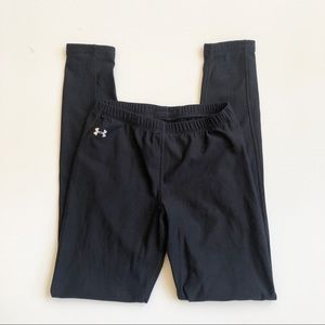 Under Armour Black Full Length Leggings Small